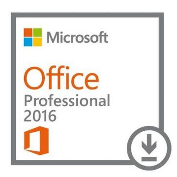 Microsoft Office 2016 Professional, 1 Licence, 32 & 64 bit, Electronic Download